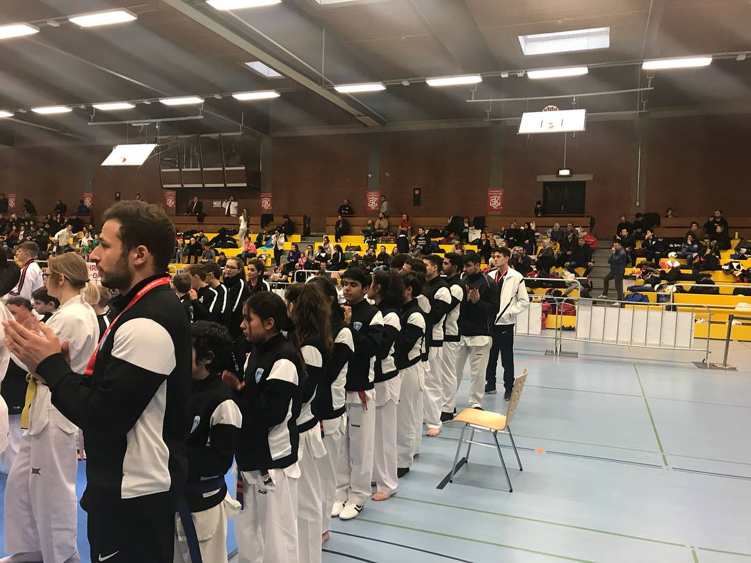 Gruppen Bild Taekwondo Sultans beim Christmas Open Turnier